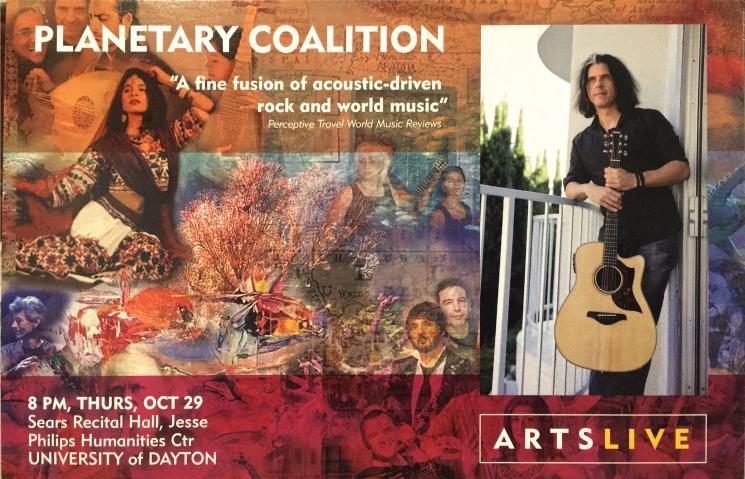 Planetary Coalition ArtsLive